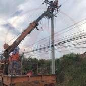 งานปรับปรุงระบบจำหน่ายไฟฟ้า