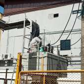 งานบำรุงรักษาอุปกรณ์ไฟฟ้า&งานบำรุงรักษาLine สายส่งไฟฟ้าแรงสูง 22K